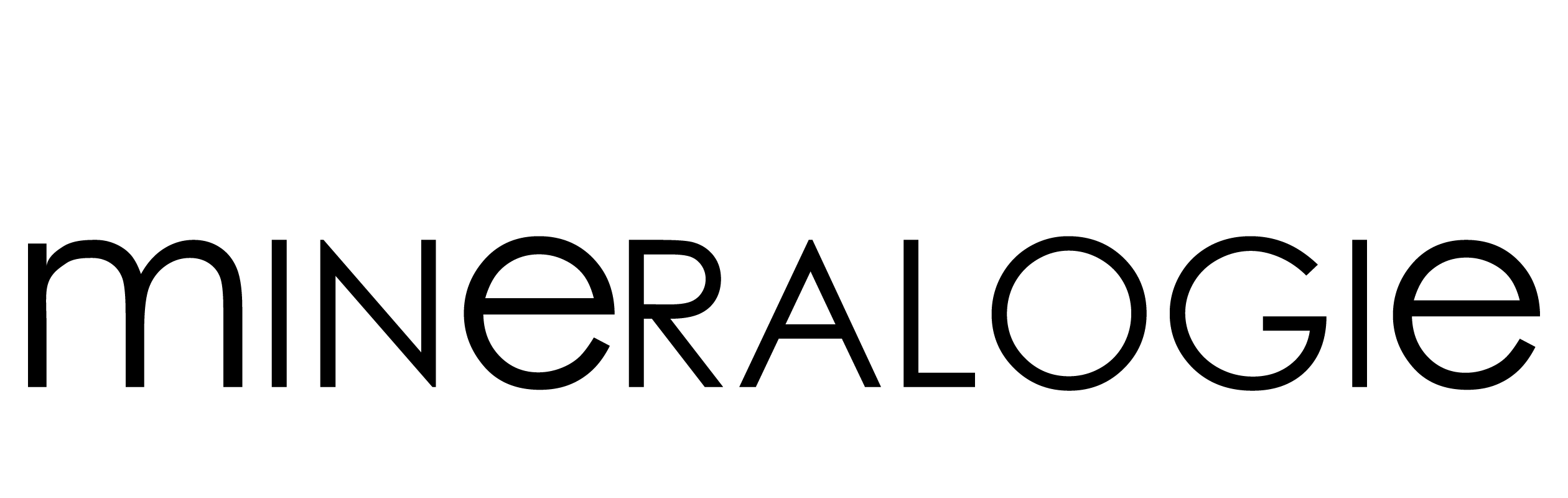 Logo Mineralogie